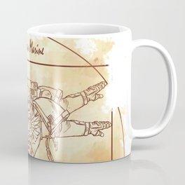 Vitruvian Marine Coffee Mug