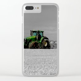 Working the Fields Clear iPhone Case