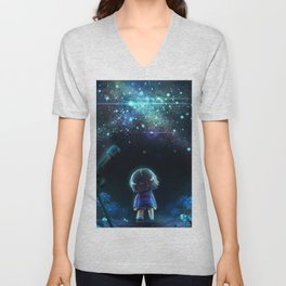 Starry (Night) Undertale Unisex V-Neck