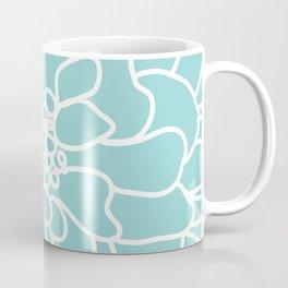 peony blue Kaffeebecher