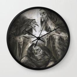 The Moirai Wall Clock