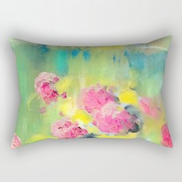 Spring Garden - Painting Rectangular Pillow