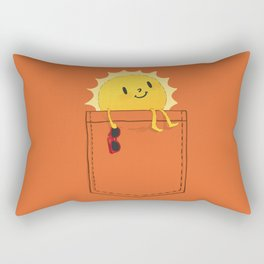 Pocketful of sunshine Rectangular Pillow