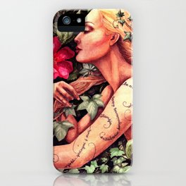 something about summer iPhone Case