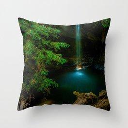 Big Basin Redwood State Park, Boulder Creek, CO Throw Pillow