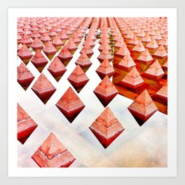 Pyramidal Art Print