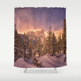Dream Lake - Rocky Mountain National Park Shower Curtain