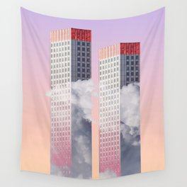 Twin towers New York Wall Tapestry
