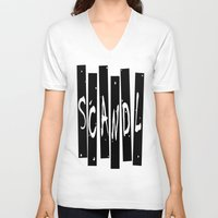 scandal V-neck T-shirts featuring SCANDAL by Robleedesigns