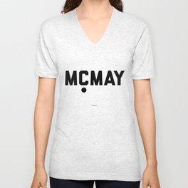 MCMAY Unisex V-Neck