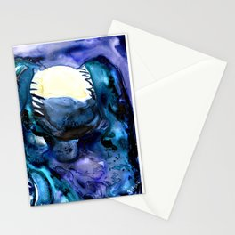 Moon Eater Dragon Stationery Cards