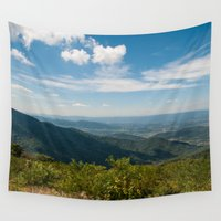 skyline Wall Tapestries featuring Skyline  by Ashley Hirst Photography