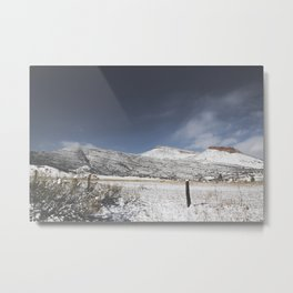 Indian Lookout Mountain Metal Print