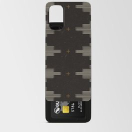 Southwestern Minimalist Black & White Android Card Case
