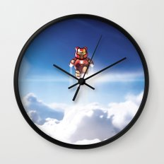 Super Bears - ACTION! the Invincible One Wall Clock