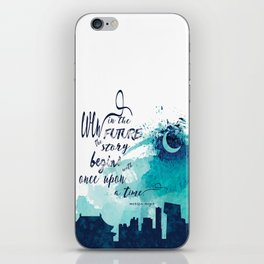The Lunar Chronicles Quote iPhone Skin