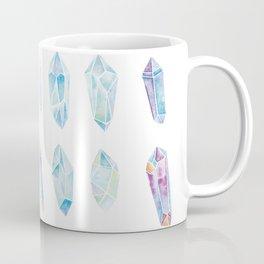 Watercolor Gemstones Coffee Mug