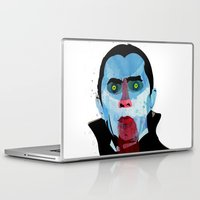 vampire Laptop & iPad Skins featuring Vampire by Alvaro Tapia Hidalgo