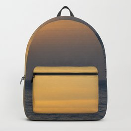 Sunset in Greece Backpack