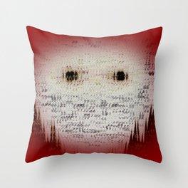 Ghost Eyes Throw Pillow