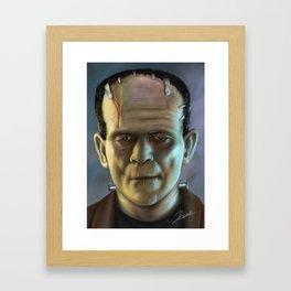 The Creature Framed Art Print