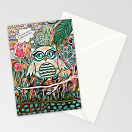 I'm Out on a Limb Here Stationery Cards