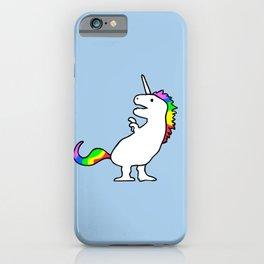 Cute Dinocorn (T-Rex Unicorn) iPhone Case