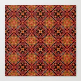 Aesthetics: ethnic pattern Canvas Print
