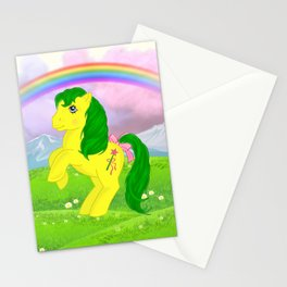g1 my little pony magic star Stationery Cards