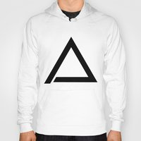 triangle Hoodies featuring TRIANGLE by eARTh