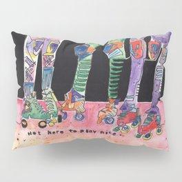 Roller Derby Girls Pillow Sham