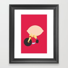 Family Guy - Stewie Griffin Framed Art Print