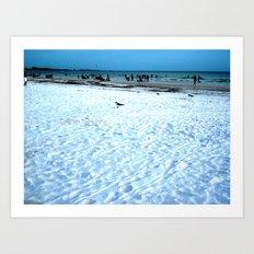 Lost Seagull Art Print