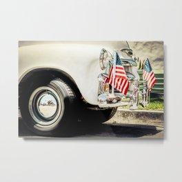 Bumper Flags Metal Print
