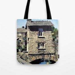 Old Bridge House Ambleside Cumbria England Tote Bag