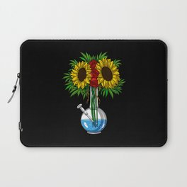 Weed Bong Vase Laptop Sleeve