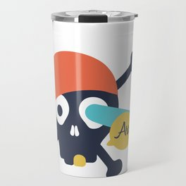 Arr Dead Pirate Travel Mug