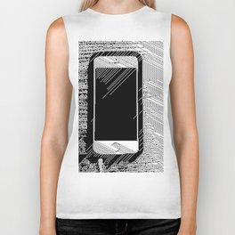 iPhone 5 Wolfram Rule 126 Biker Tank