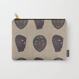 Quibor Masks Pattern - 2016 Carry-All Pouch
