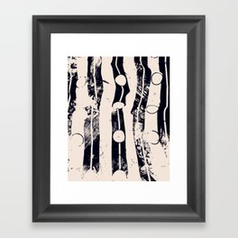 A Boy's Stream Framed Art Print