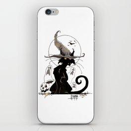 Feline Familiar iPhone Skin