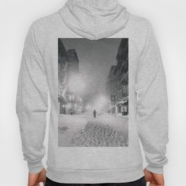 Alone in a Blizzard - New York City Hoody