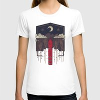 T-shirts featuring The Lost Obelisk by Hector Mansilla