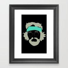 Tommy chong Framed Art Print