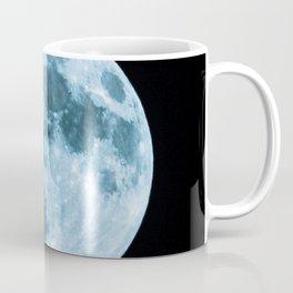 Moon on black background – Space Photography Coffee Mug