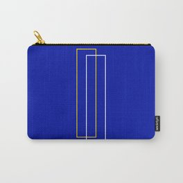Blue Door Abstract Carry-All Pouch