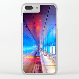 City metro station Hamburg Clear iPhone Case