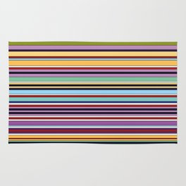 Colorful Symphony of Summer Rug