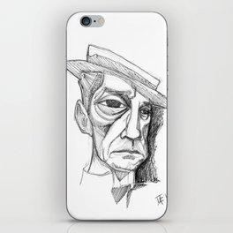 Buster Keaton iPhone Skin