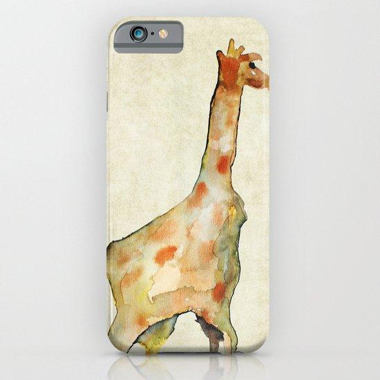 old camouflage giraffe iPhone & iPod Case